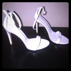 Zara Woman White Sandals